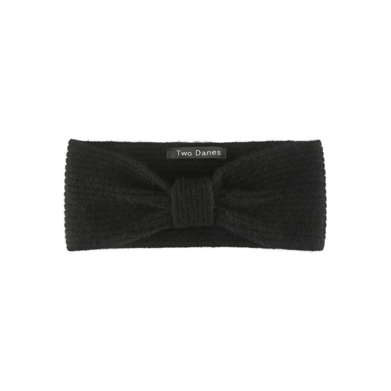 Two Danes Pannband Yori Headband Black