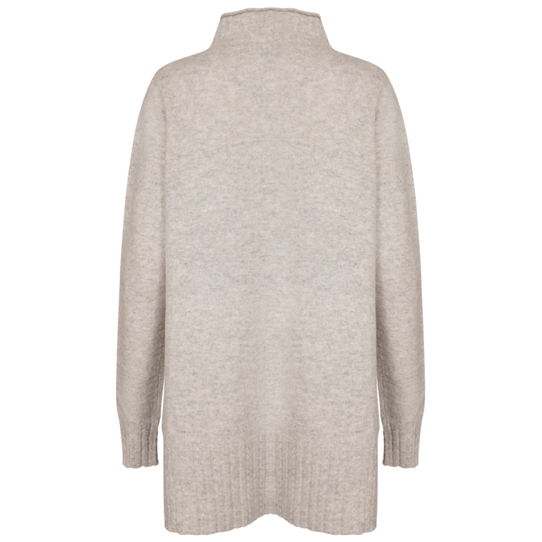 Two Danes Tröja Line Sweater New Silver
