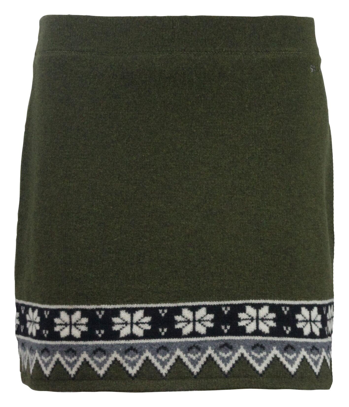 Skhoop Kjol Scandinavian Skirt -Olive