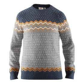 Fjällräven Tröja Övik Knit Sweater M Acorn