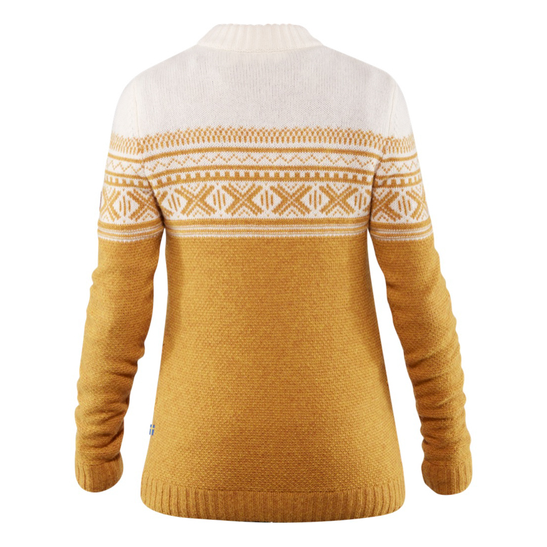 Fjällräven Tröja Övik Scandinavian Sweater W Acorn