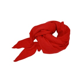 Mathlau Halsduk Scarf Lambswool -Red