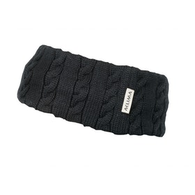 Aclima Pannband Knitted Headband Jet Black