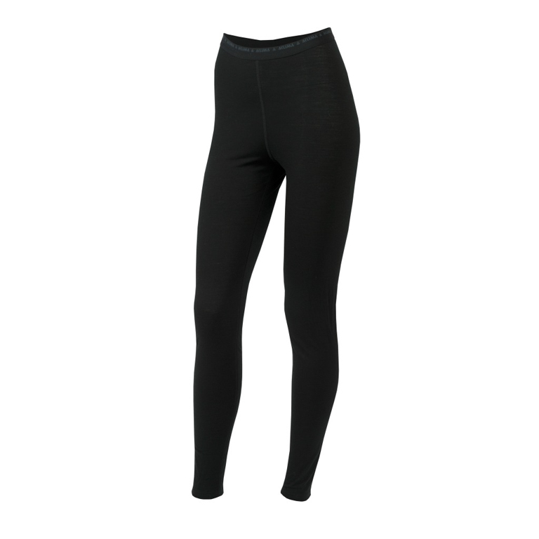 Aclima Leggings LightWool Longs W Jetblack