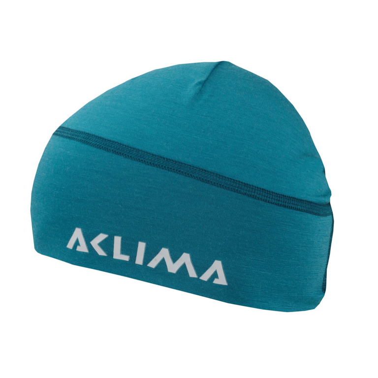Aclima LightWool Beanie Harbor Blue