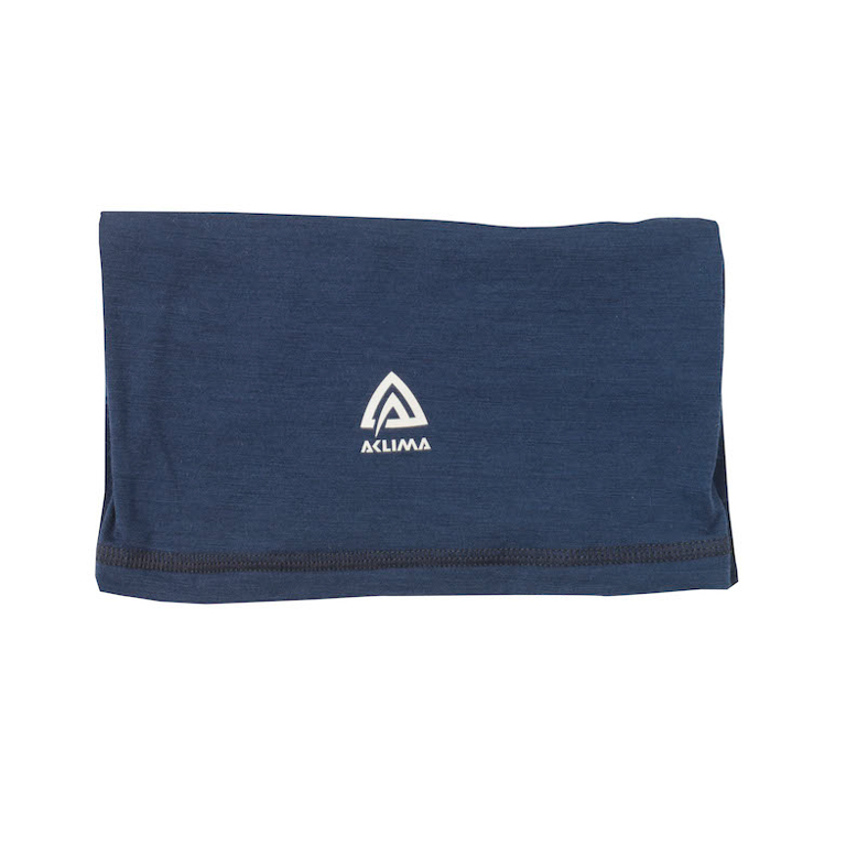 Aclima Lightwool Headover Insignia Blue Tub-Halsduk