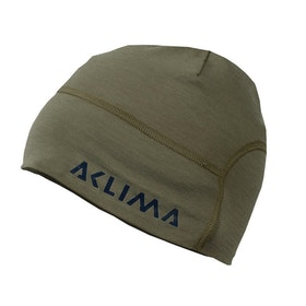 Aclima Mössa LightWool Hunting Safety Beanie U Ranger Green/Poinciana