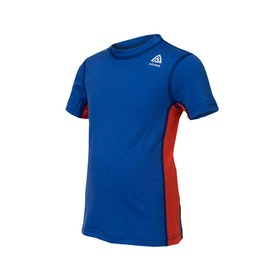 Aclima T-shirt LightWool T-shirt C Dazzling Blue/Poinciana