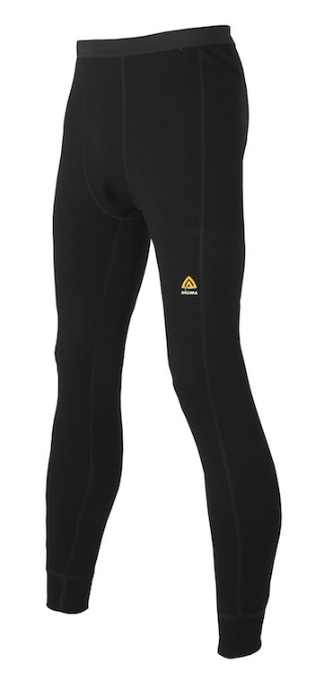 Aclima Warmwool Longs Man Jet Black Långkalsong
