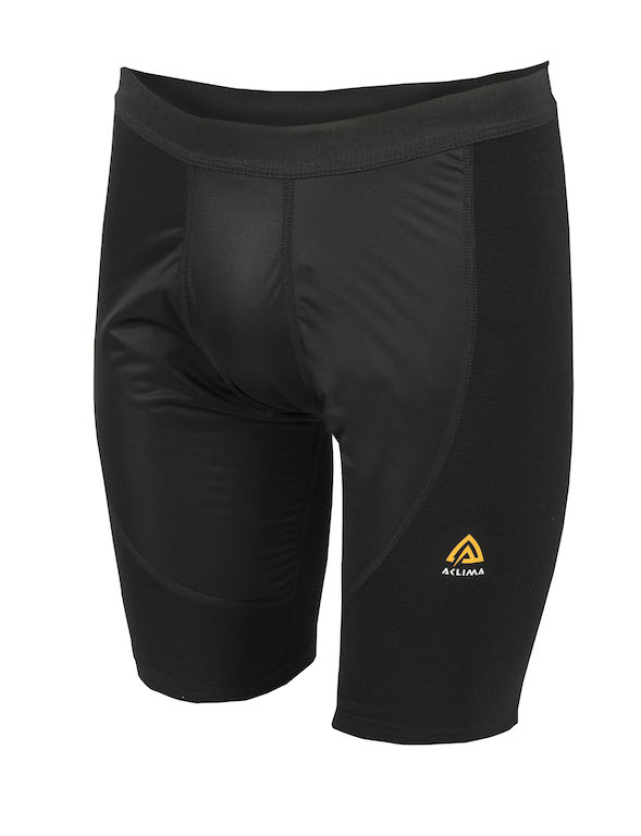 Aclima Warmwool Shorts w/Windstop Black