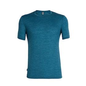 Icebreaker Herr T-shirt Sphere SS Crewe Poseidon Hthr