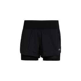 Icebreaker Dam Shorts Impulse Training Shorts Black