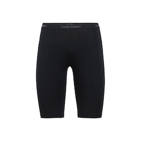Icebreaker Dam Leggings Zone Shorts Black