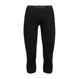 Icebreaker Dam Leggings Zone Legless Black