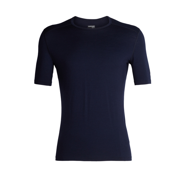 Icebreaker Herr T-shirt Oasis SS Crewe Midnight Navy