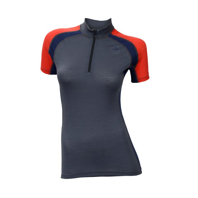 Aclima AS T-shirt LightWool Speed Shirt, Woman -Iron Gate