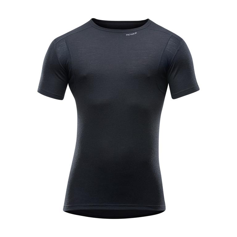 Devold of Norway T-shirt Hiking Man T-Shirt -Black