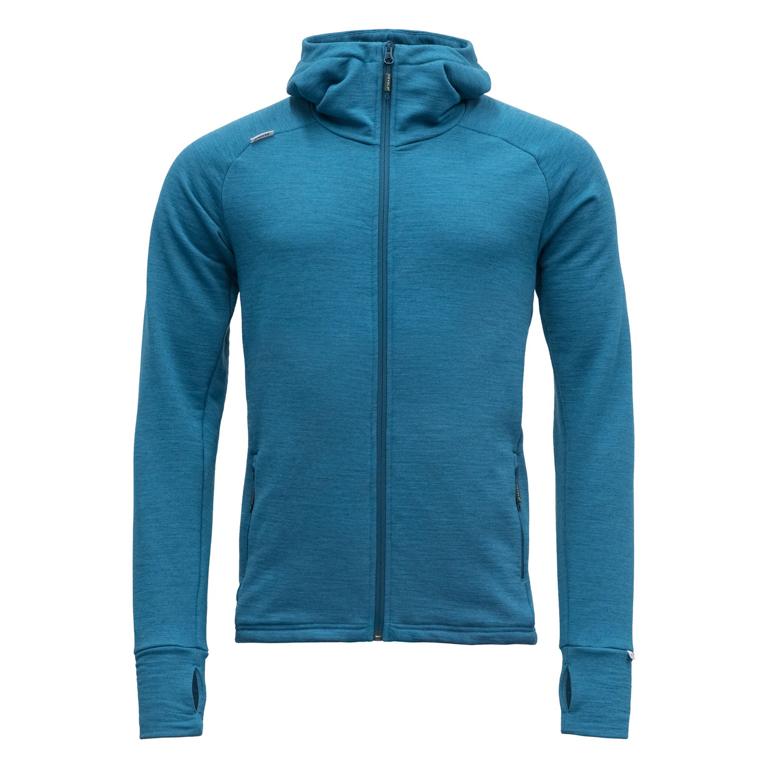 Devold Nibba Man Jacket Blue Melange