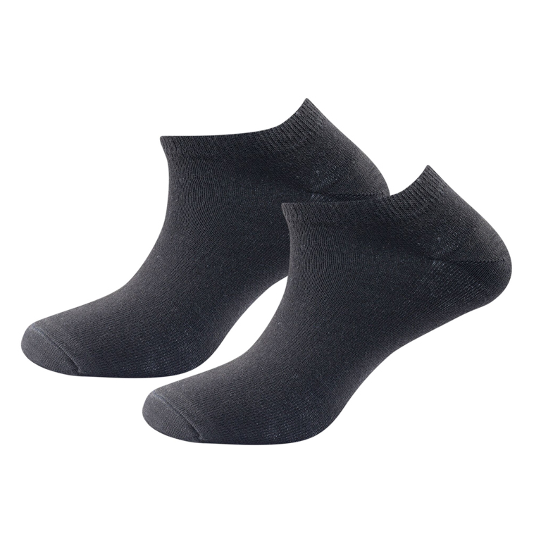 Devold of Norway Strumpor Daily Shorty Sock 2Pk -Black