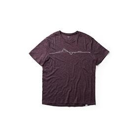 Houdini T-shirt M´s Activist Message Tee -Last Round Red