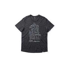 Houdini T-shirt M´s Activist Message Tee -True Black