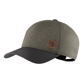 Fjällräven Keps Greenland Wool Cap Dark Grey