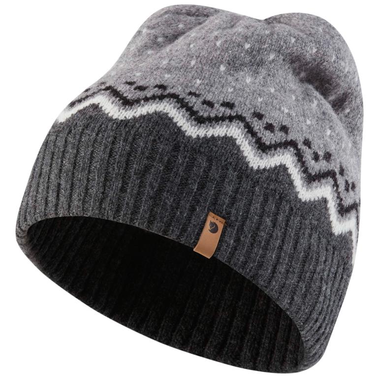 Fjällräven Mössa Övik Knit Hat Grey