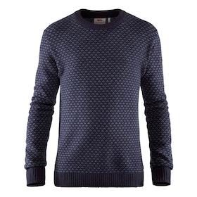 Fjällräven Tröja Övik Nordic Sweater M Dark Navy