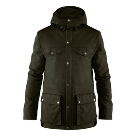 Fjällräven Jacka Greenland Re-Wool Jacket M Deep Forest