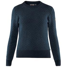 Fjällräven Tröja Övik Nordic Sweater W Dark Navy