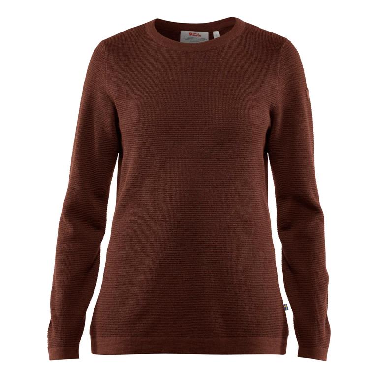 Fjällräven Tröja High Coast Merino Sweater W Maroon