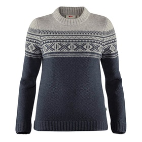 Fjällräven Tröja Övik Scandinavian Sweater W Navy