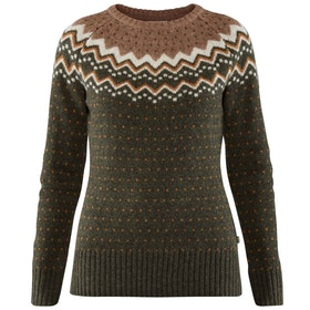 Fjällräven Tröja Övik Knit Sweater W Deep Forest