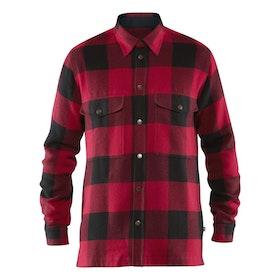 Fjällräven Skjorta Canada Shirt M Red