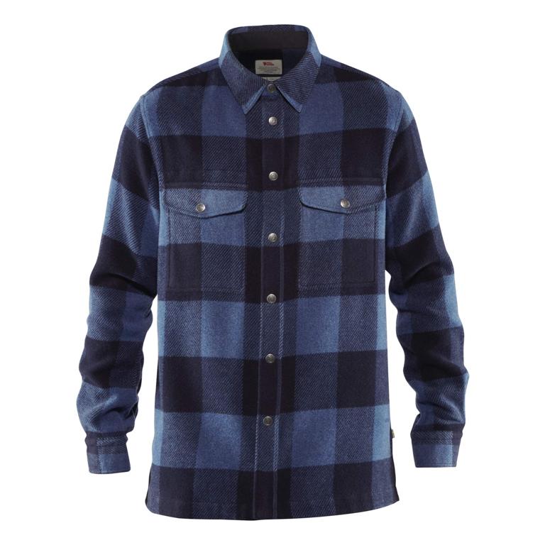 Fjällräven Skjorta Canada Shirt M Uncle Blue