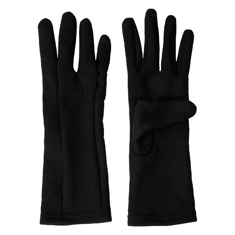 Aclima Handskar HotWool Heavy Liner Gloves, Un Jet Black