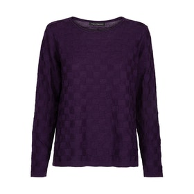 Two Danes Tröja Millie Jumper Blackberry