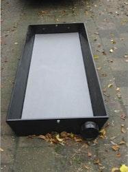 Klövbad (HDPE) måttbeställt 3.0m x 0.6m