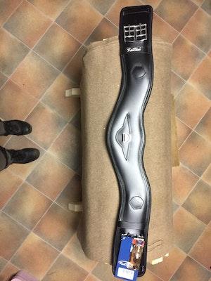 Dressyrgjord ergonomisk Svart 75 cm