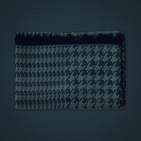 Halsduk i ull/siden