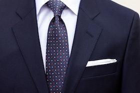 Kostym Marinblå klassiker Super 130´S