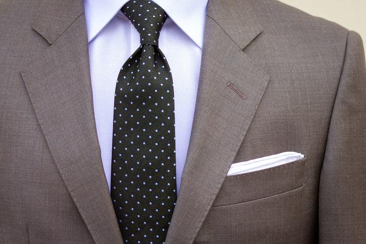 Kostym ljusbrun/beige Super 120´s ren ull.