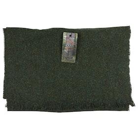 Grön halsduk i återvunnet material