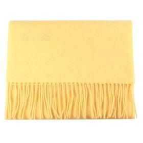 Gul halsduk i ull