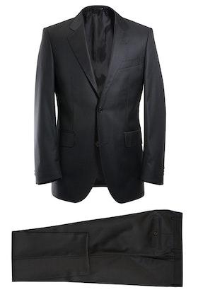 Kostym Viero Milano svart Super 120´S