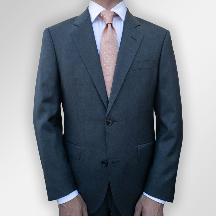 Kostym Viero Milano mellangrå Super 120´S