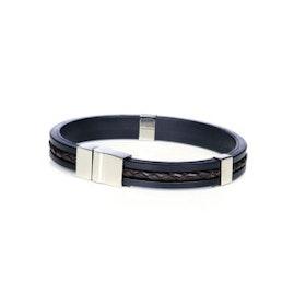 Mörkbrunt armband SO SWEDEN