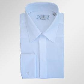Smokingskjorta klassisk vit
