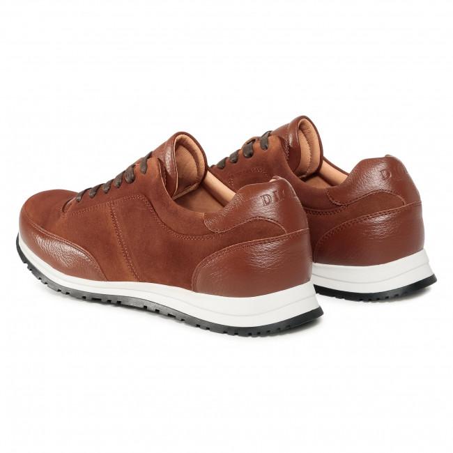 Ljusbrun mockasneaker