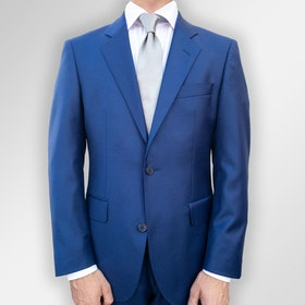 Kostym Loro Piana blå Super 130´S